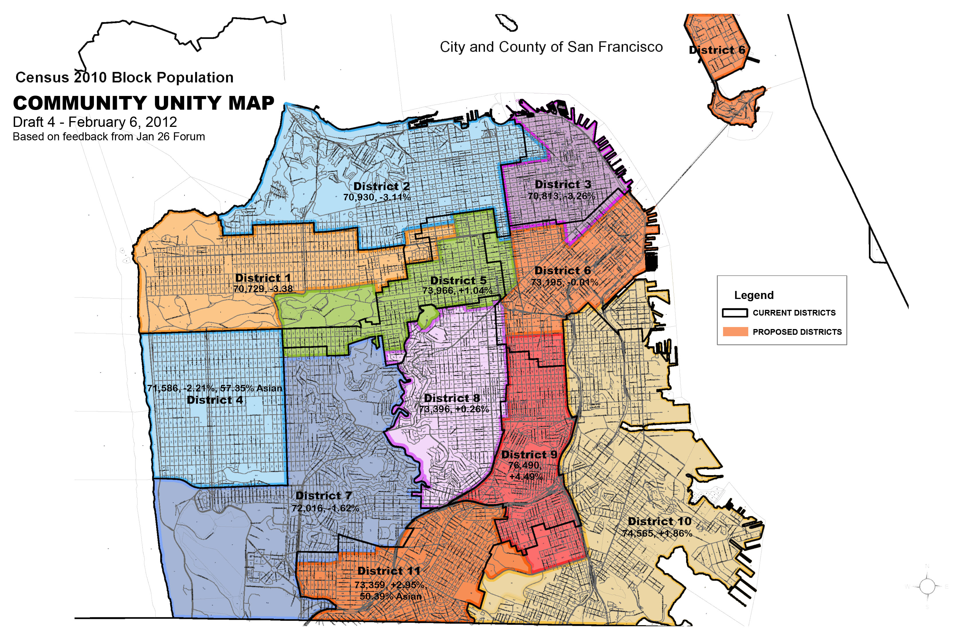 Community Unity Map Pushes Redistricting Task Force To Keep Our - San francisco map tenderloin district