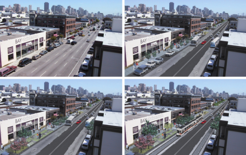 An EIR is currently underway to study whether Folsom Street should be converted to two-way traffic.